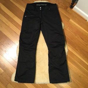 Obermeyer black ski pants
